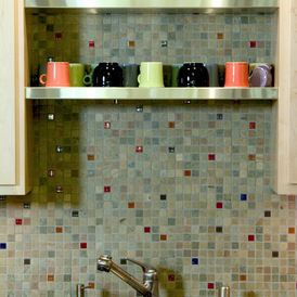 eclectic kitchen by Harrell Remodeling GR-tiles, colors
