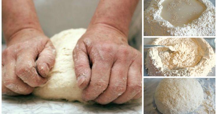 La ricetta dell'impasto per torte rustiche.