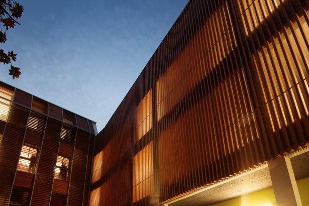 Lycée Paul Valery, Menton, France  by: Elodie Nourrigat, Jacques Brion, NB architects