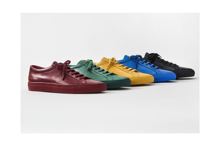 Common Projects, the undisputed masters of luxe sneaker minimalism just unveiled its SS16 range, whichkind of feels likethe first bloom of spring.