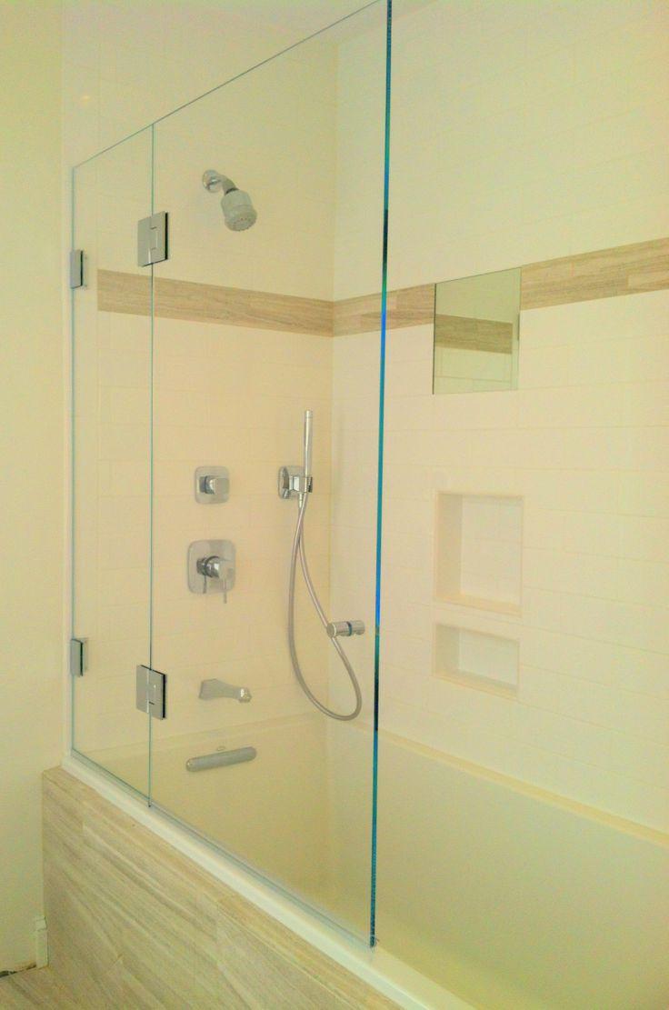 31 best Frameless Shower Doors images on Pinterest   Frameless ...