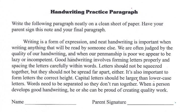 Practice writing essays