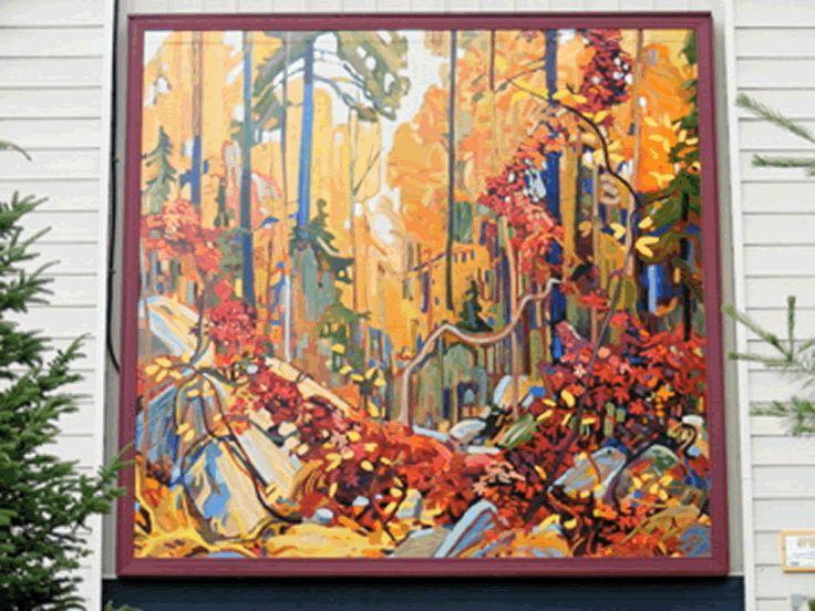 Group of Seven Outdoor Gallery, Huntsville, Ontario