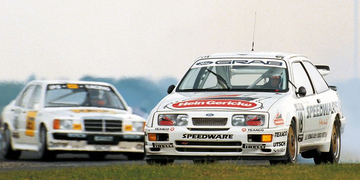 DTM History | 1988 season | DTM.com // In 1988 as many as four manufacturers, BMW, Ford, Mercedes-Benz and Opel, started from the DTM grid.