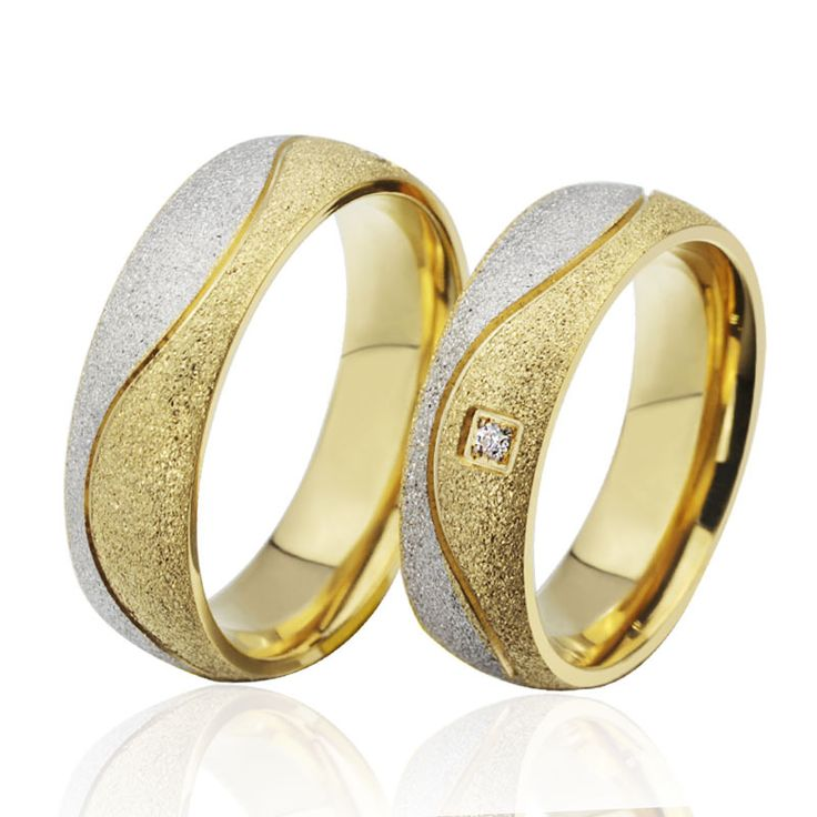 Cheap ring fin, Buy Quality wedding ring brand directly from China wedding ring combinations Suppliers:  Newest couple rings for lover 18k real gold plated stainlessUS$ 4.99/piece  Promise love Heart