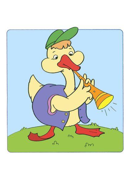 (2015-11) Gåsen spiller klarinet