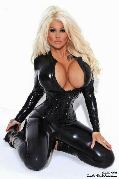 Women latex fetish