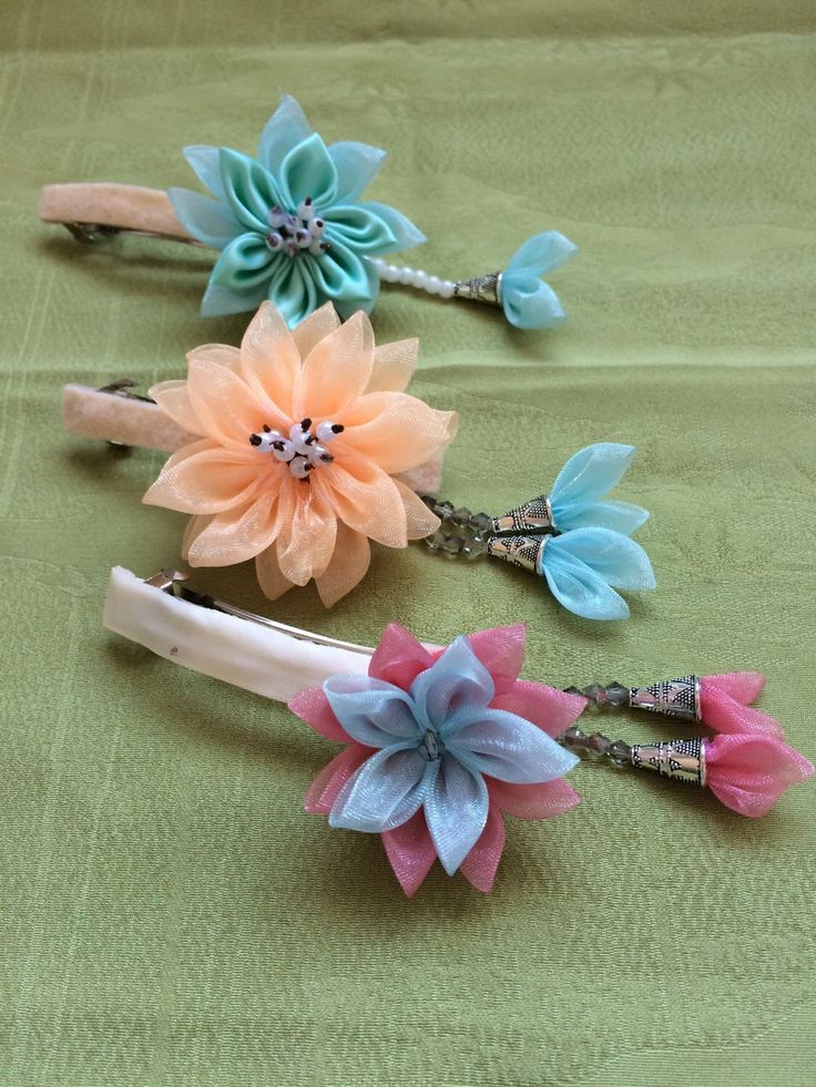 A personal favourite from my Etsy shop https://www.etsy.com/au/listing/268016001/handmade-kanzashi-flower-hairpin-pink