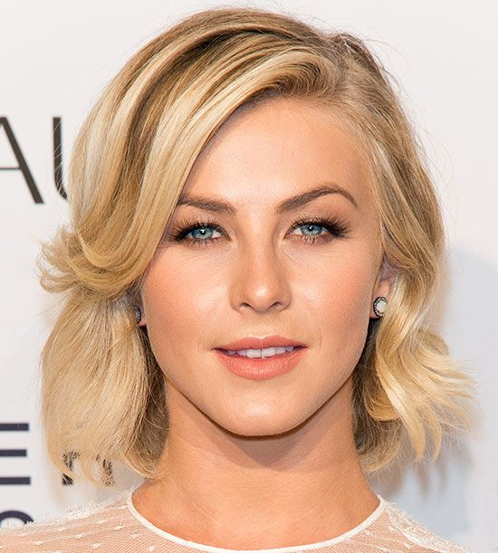 This blonde bob flawlessly frames her face and makes her bright blue eyes pop: http://www.bhg.com/beauty-fashion/hair/10-celebrity-short-haircuts-we-love/?socsrc=bhgpin041814juliannehough&page=6
