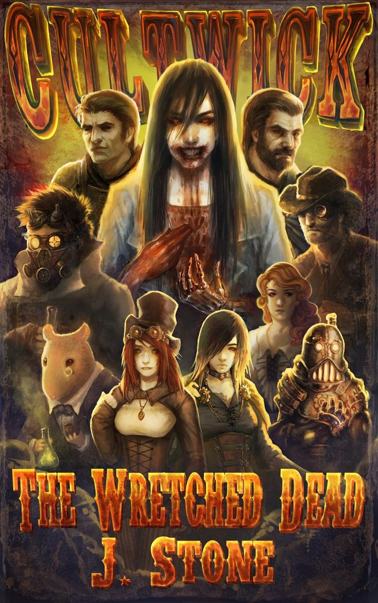 Cover for Cultwick: The Wretched Dead.