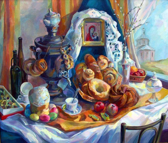 Анна Калашникова. Пасха.