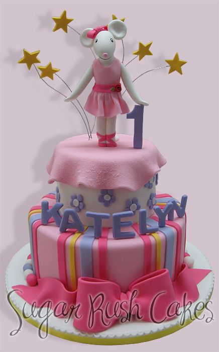 Ballerina Birthday Cakes Pinterest