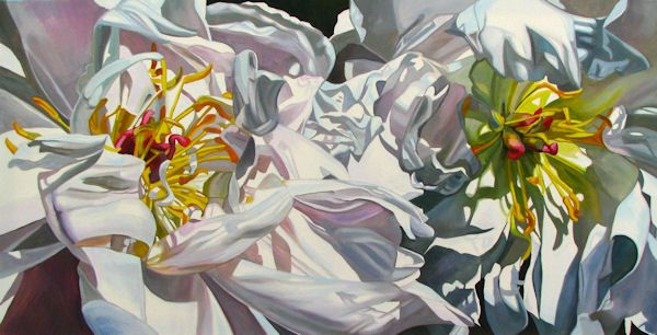 Large Canvases---Celebrity Peonies------Neily Harris