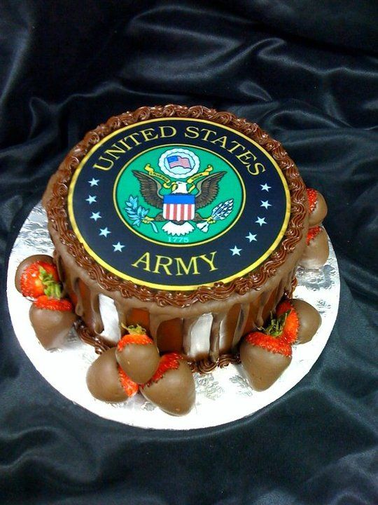 Grooms Cake. Army Emblem | Grooms Cakes By Creative ...