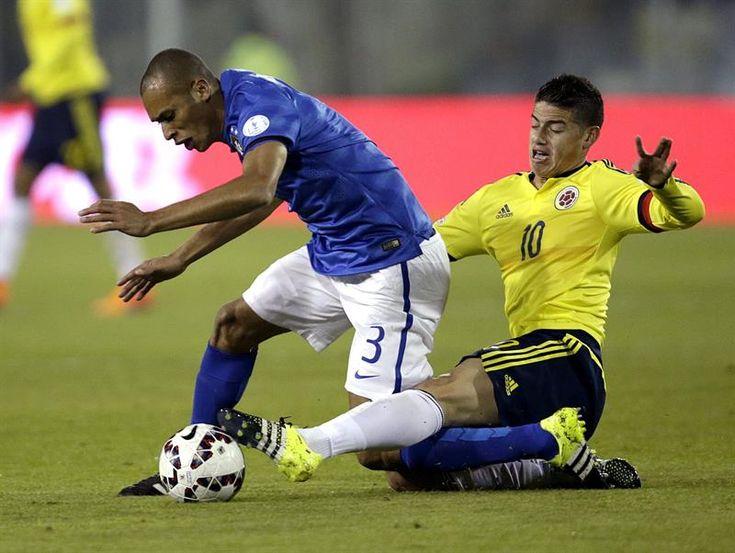 Colombia abrió el marcador con Jeison Murillo Copa America Chile 17.6.15