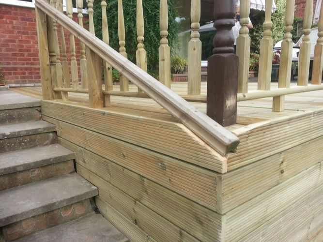 Stairs And Handrails