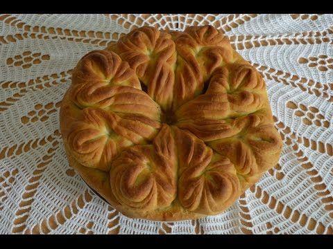 Дрожжевой пирог с тушеной капустой и фрикадельками - YouTube