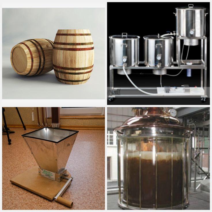 """Основа пивоварения  Один известный любитель пива сказал: """"Если угостить гостя пивом - Вы потеряете его на час. Научив же его приготовлению - навсегда."""" Правда, домашнее пивоварение набирает все большей и большей популярности. Наша фирма 'Artimperio' предоставляет все для домашнего пивоварения - от высококачественного оборудования лучших мировых производителей до специальных наборов для приготовления пива в домашних условиях.   http://artimperio.com/category/domashnee-pivovarenie/"""