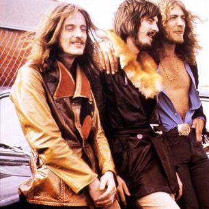 Led Zeppelin Jimmy Page Robert Plant John Bonham John Paul Jones
