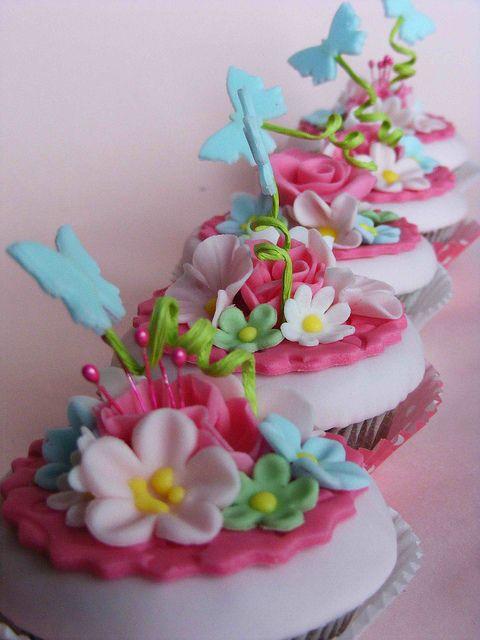 Cupcakes Flowers