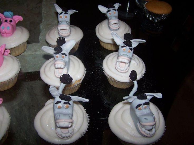Donkey Cupcakes from Shrek