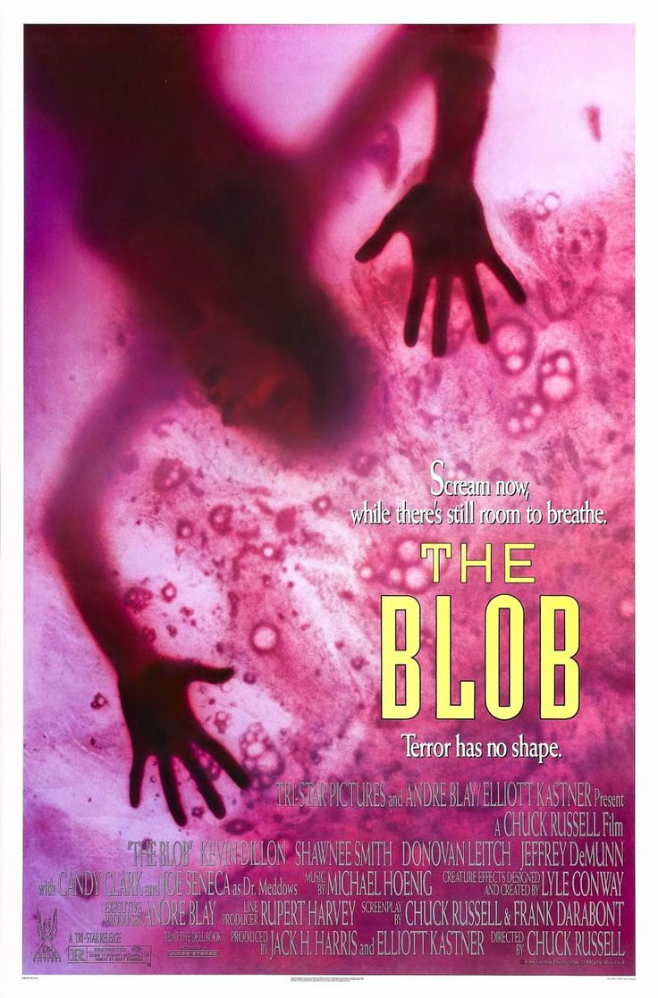 The Blob - Review: The Blob (1988) is a 1h 35-min rated R American science-fiction thriller horror movie that was a remake… #Movies #Movie