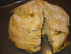 Pan con ajo y aceitunas (Panetto con aglio e olive) – Recetas italianas, recetas de cocina italiana en espanol