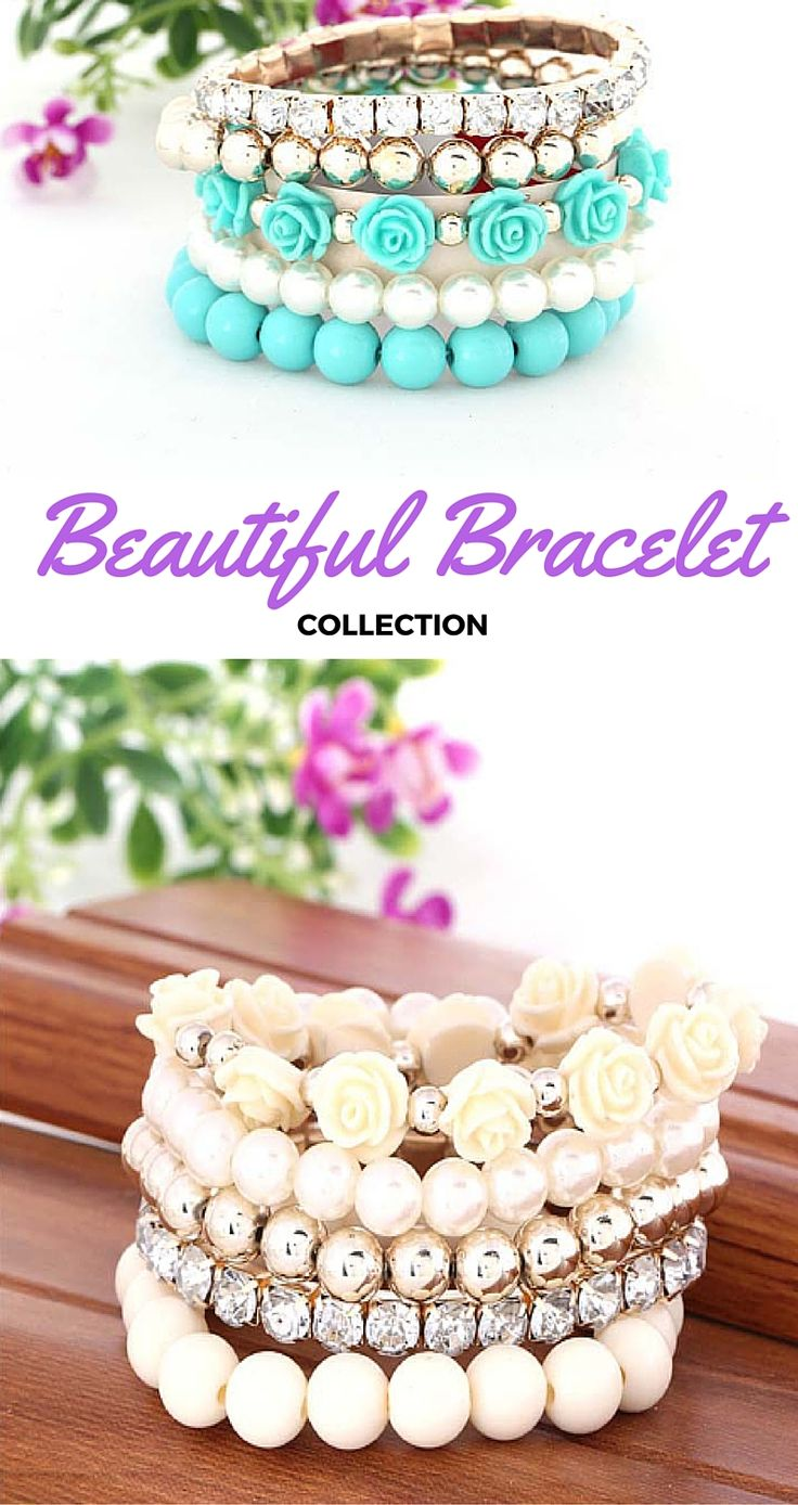 Beautiful Bracelet Collection #bracelet #jewelry #collection #fashion #beautiful