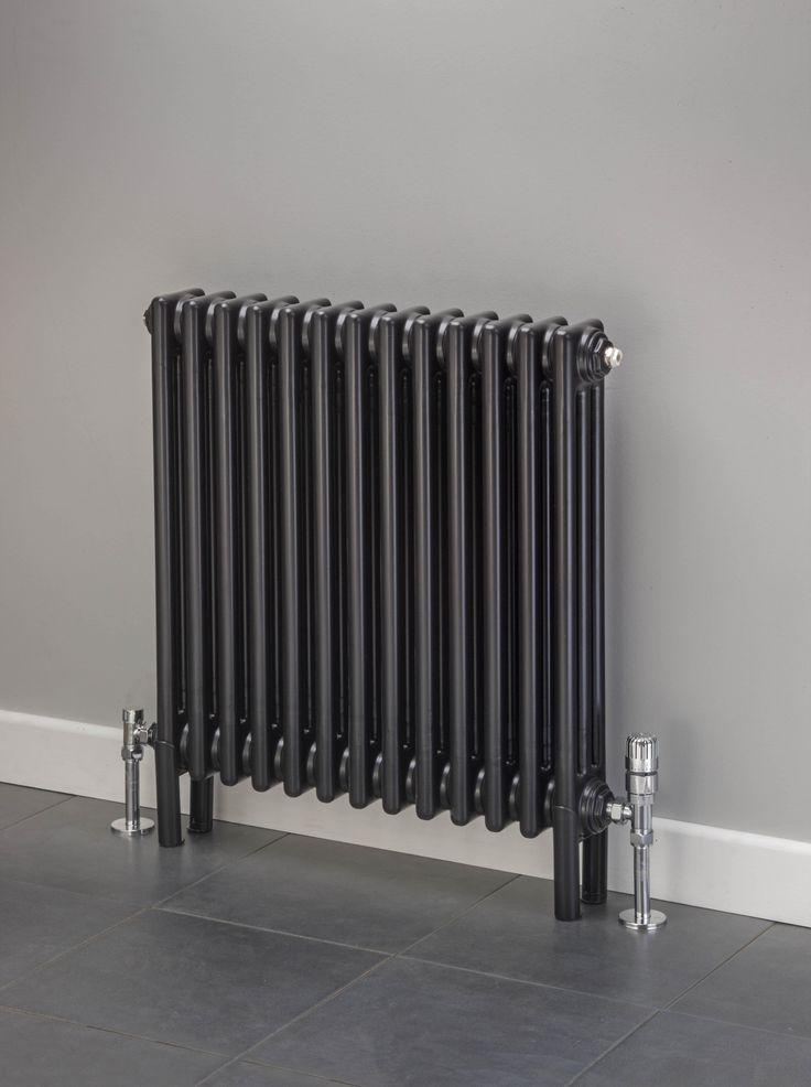 Cheshire Radiators Kingsley 2 Column Horizontal Steel Radiator In Colour Cast Iron Period