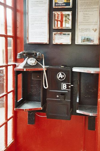Telephone style 1960 We used to make phone calls to random people in the phone book - 'get off the line there's a train coming!'. Very imaginative (not).                                                                                                                                                      More