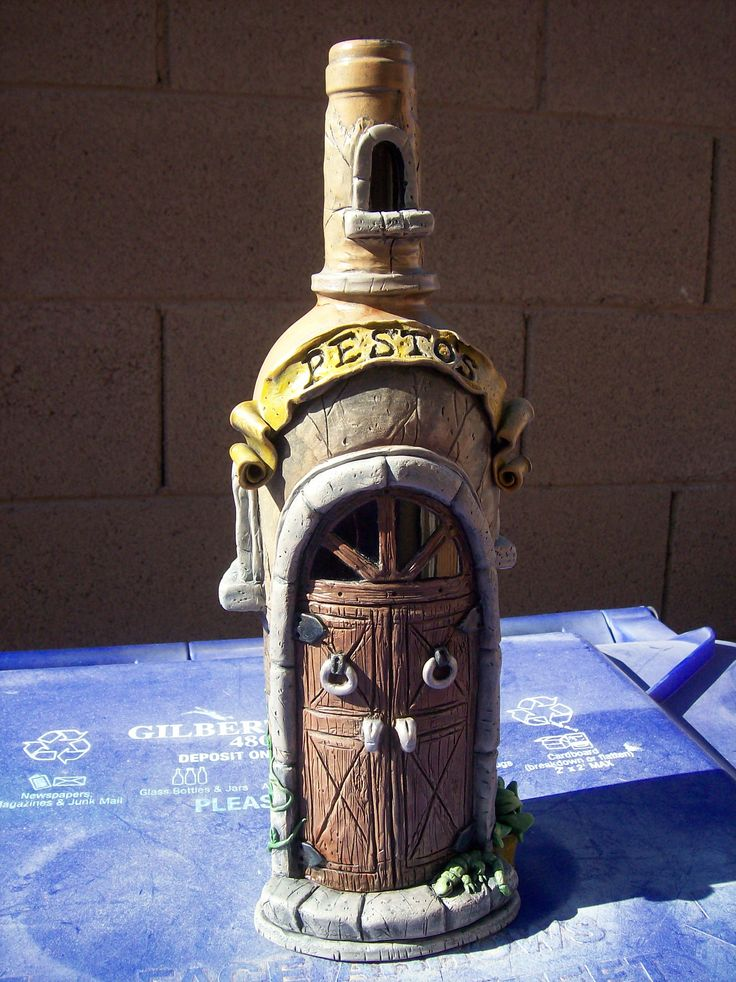 Best 25 decorated liquor bottles ideas on pinterest for Can acrylic paint be used on glass bottles