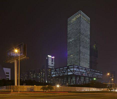 Shenzhen Stock Exchange by OMA