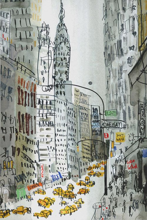The Chrysler Building by Clare Caulfield