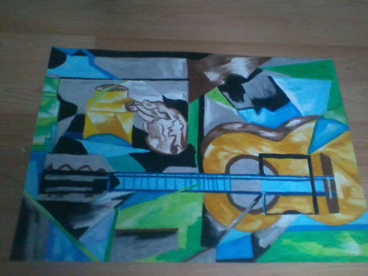 still life - analytic cubism