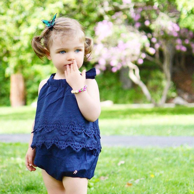 2016 de los Bebés Bodys Para Bebés Recién Nacidos Ropa de Bebes Niños Del Verano Conjunto de Encaje Ropa Jumpsuit Subida Triángulo en   de   en AliExpress.com   Alibaba Group