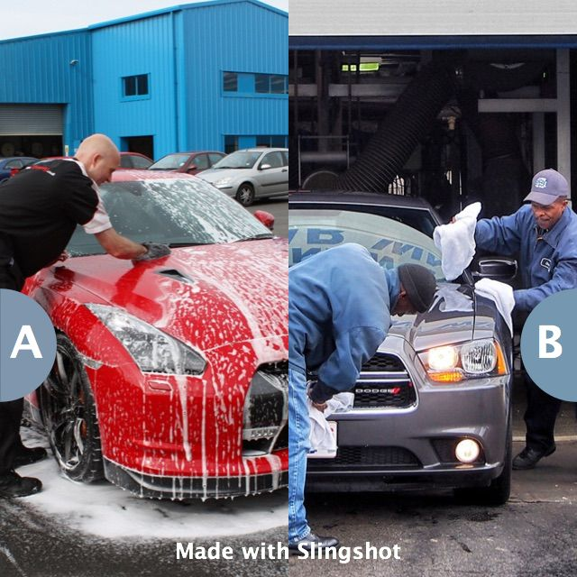 Wash your own car or take it to the car wash? Click here to vote @ http://getslingshotapp.com/share/98665