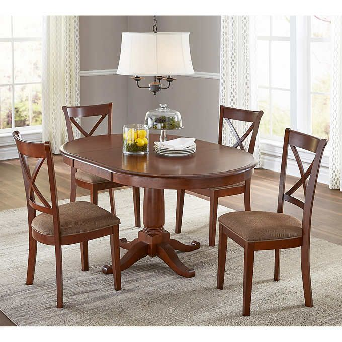 Juno Costco Trendy Dining Room Round Wood Dining Table
