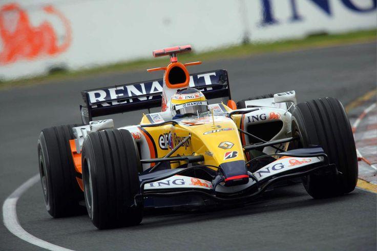 2007 Giancarlo Fisichella Renault R27