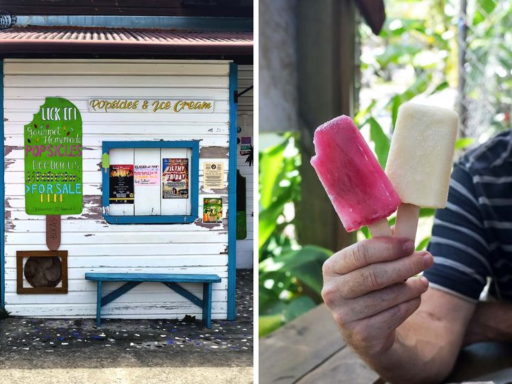 Eat local and try Lick It! icy poles in Bocas Town, Bocas del Toro, Panamá | heneedsfood.com