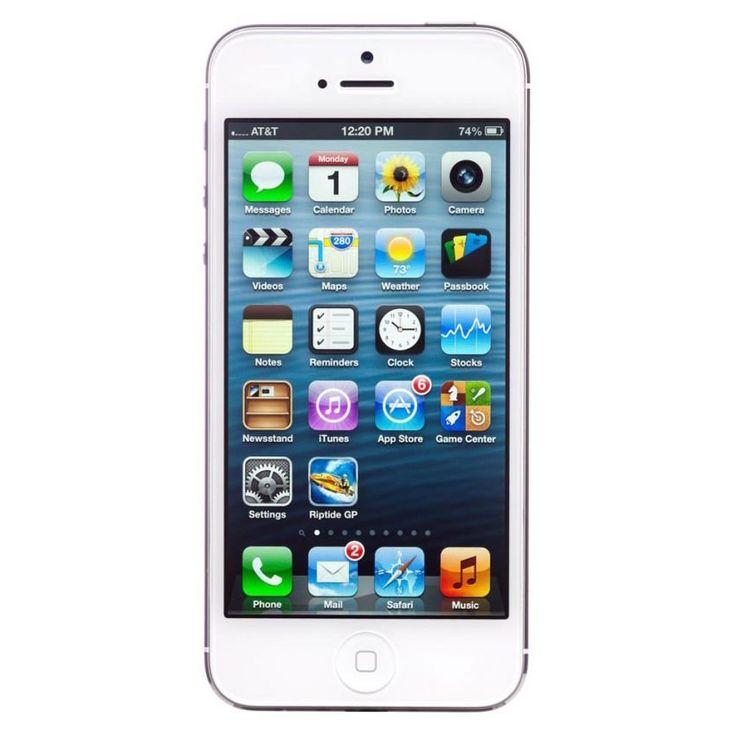 Apple iPhone 5 - 64 GB in white. http://www.zocko.com/z/JHlee