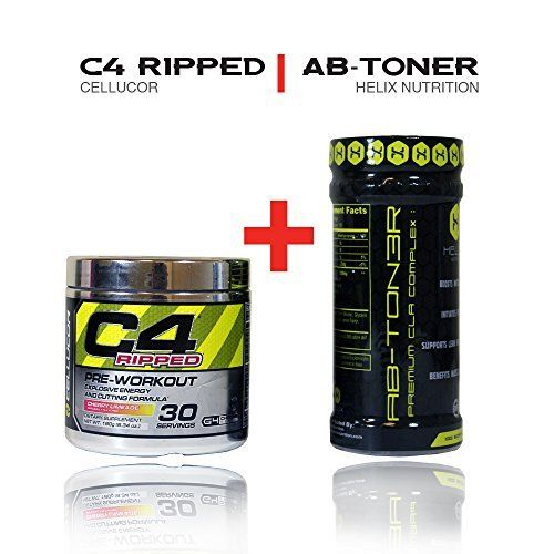 Cellucor C4 Ripped Preworkout Thermogenic Powder 30 Servings