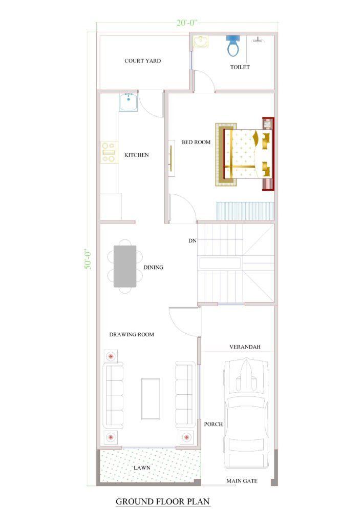 20 Wide House Plans 2020 In 2021 20x40 House Plans House Plans Home Design Floor Plans