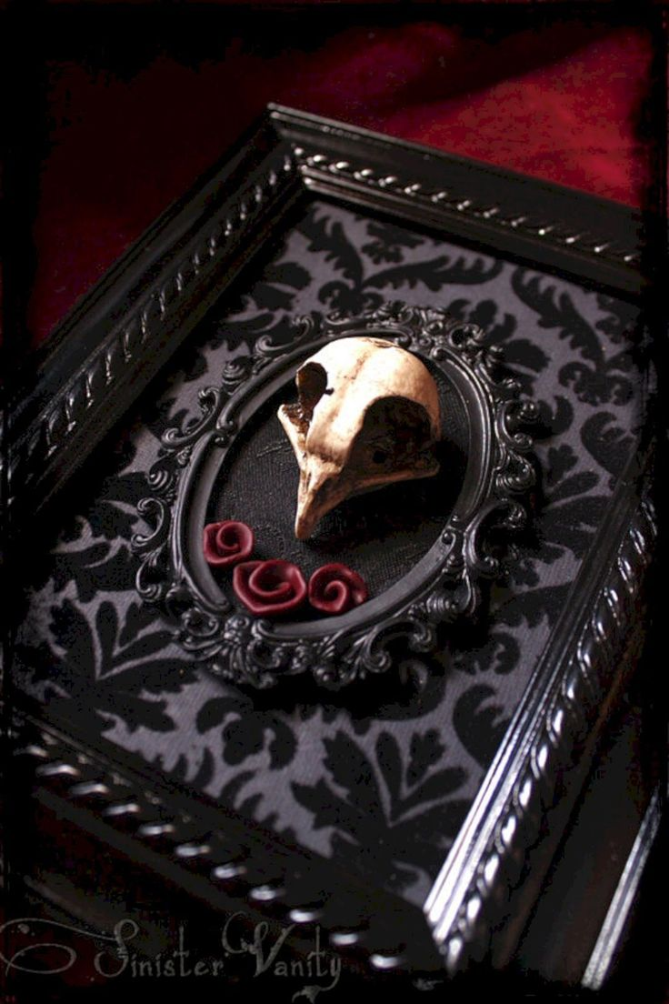 Pin By Stephanie Riley On Oddities Goth Home Decor