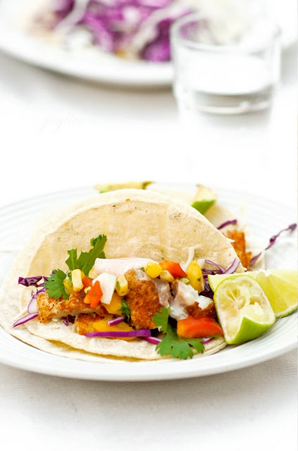 Grilled fish tacos | Food to Make | Pinterest