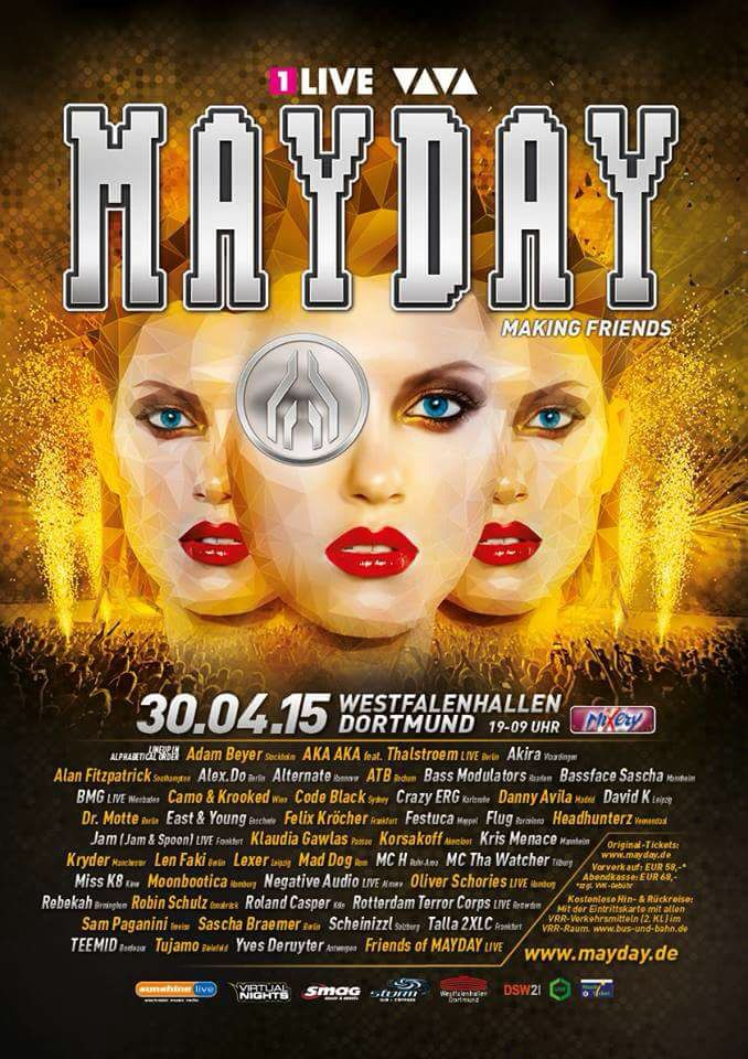 Mayday- Dortmund- 2015
