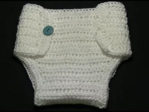 How to Crochet a wrap style Diaper Cover