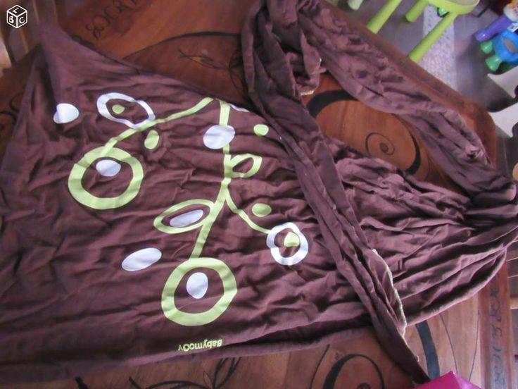 Écharpe de portage BABYMOOV marron et vert