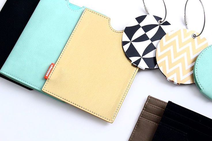 Style your passport and make your luggage stand out from the rest!