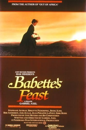 Babette's Feast (1987) ~Throughout the world sounds one long cry from the heart of the artist: Give me the chance to do my very best.
