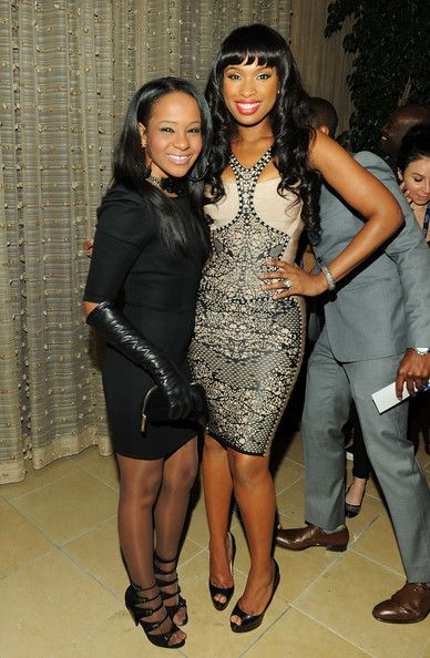 Bobbi Kristina Brown & Jennifer Hudson at- The 53rd Annual GRAMMY Awards - Salute To Icons Honoring David Geffen